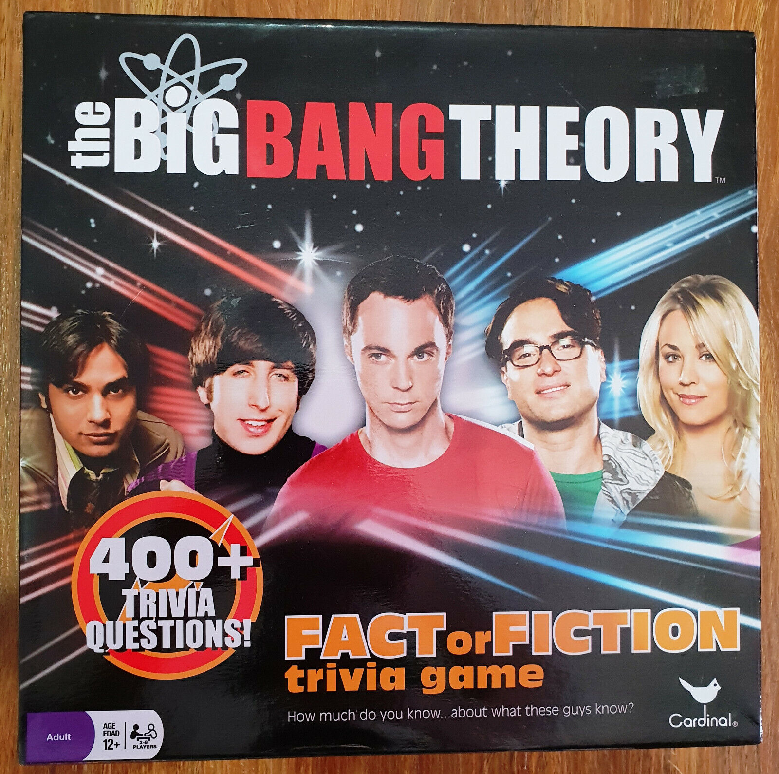 THE BIG BANG THEORY Fact Or Fiction TRIVIA BOARD GAME Excellent Used & Complete