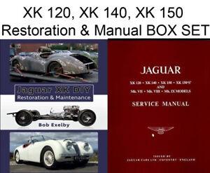 JAGUAR SHOP SERVICE REPAIR MANUAL HAYNES AUTOBOOKS XK120 XK150 XK140 MK 7 8 9