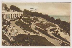 Essex-Postkarte-Obdach-amp-Cliff-Gaerten-Blick-nach-Osten-Westcliff-on-Sea-A330