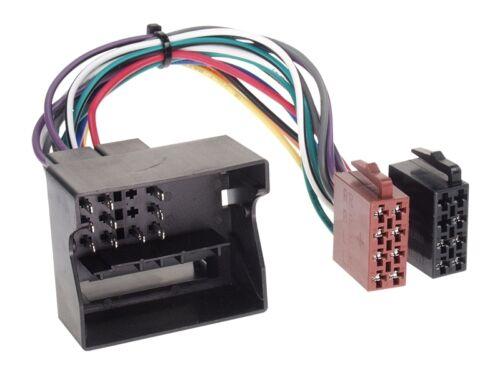 BMW 1er E87 Facelift 07-11 2-DIN Autoradio Einbauset Adapter Kabel Radioblende