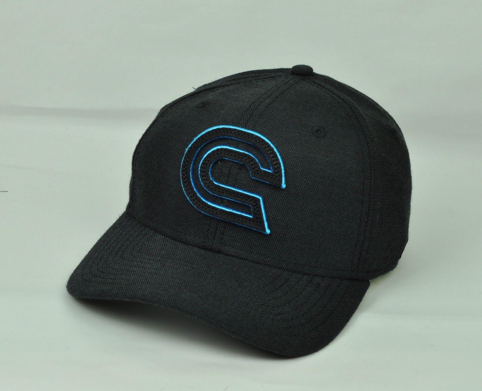 A Flex Skate 3088 Herren Für Erwachsene Gebogen Bill Black Hellblau Hut Kappe