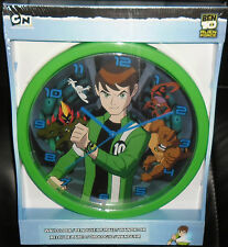 OROLOGIO DA PARETE/WALL CLOCK-BEN 10 BEN10  huntik,max steel,alien force,gormiti