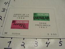 juegos de la XIX olimpiada 1968, serie preolimpica 1967 #8