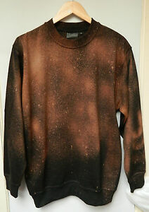 mode à la la pull pull à Sweat hipster main Wash design rétro délavage Tie Dye ATqnU