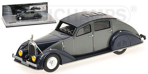 Voisin C25 Aerodyne  Grey Dark bluee  1934 (Minichamps 1 43   400112372)