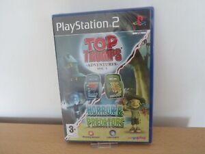PS2-Top-Trumps-Adventures-Vol-1-Horror-amp-Predators-NEW-amp-SEALED-PAL-UK