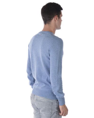 Maglia Maglione Lana Daniele Alessandrini Fmc17113707 Uomo Sweater Azzurro 21 RFxgRaSw