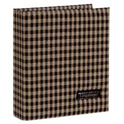 Longaberger Checkbook Cover in Khaki Check