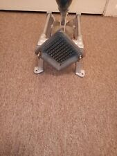 38 In Cut Potato French Fry Cutter Cast Iron Stainless Steel Commercial Works