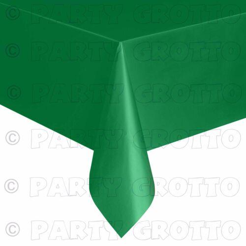 Amscan plastique oblong Tablecovers table housse en tissu restauration événements 19 couleurs
