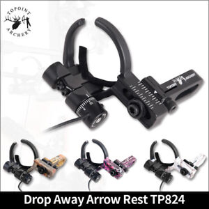 Arrow Rests Archery Drop Away Arrow Rest Fall Micro Adjustable Compound Bow RH LH Hunting Outdoor Sports