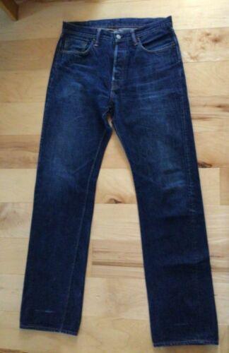 Warehouse men's blue jeans, size 33x34