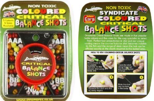 Dinsmores Critical Balance 5 Compartment Non Toxic Fishing Coloured Shot