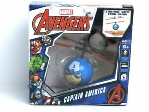 Captain-America-Avengers-Marvel-IR-UFO-Ball-Helicopter-New-in-Box