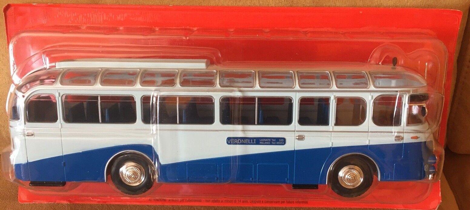 Druckguss bus von der mondo  speer an p weiße eg - 1953  maßstab 1   43