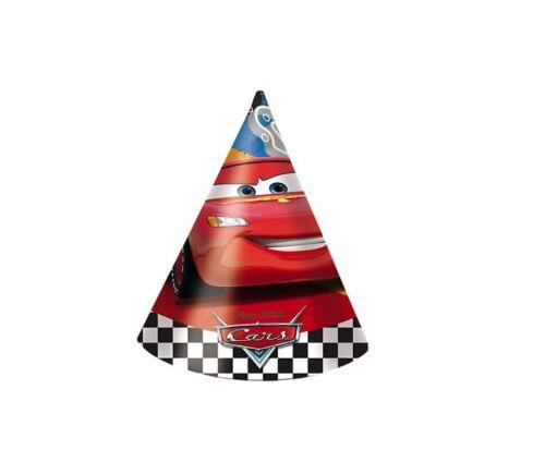 Party SET Deko CARS RSN Kindergeburtstag Teller Becher Türfolie Masken uvm