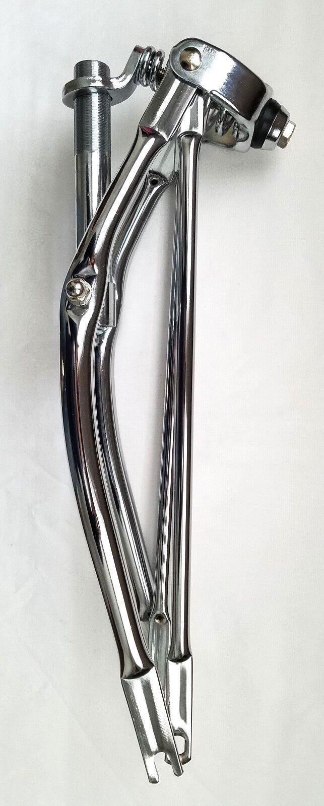 20  Classic Lowrider Spring Fork Chrome