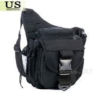 Tactical Military Dslr Digital Camera Shoulder Waist Belt Sling Bag Pouch Us