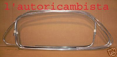 serie cornici porta raschiavetro Fiat 500 Chrome door frame  Made in ITA Kit