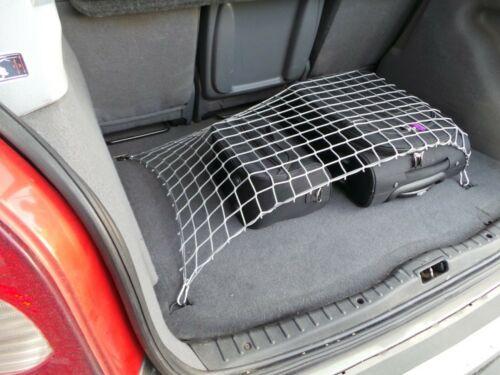 Autonetz Schutznetz Grau Gepäcknetz Größe 100x150 cm Kofferraumnetz