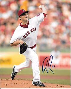 NEW BOSTON RED SOX ALL STAR DREW POMERANZ SIGNED 8X10 PHOTO W/COA +