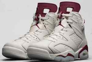 finest selection b1d3a 47748 Image is loading NIKE-AIR-JORDAN-6-VI-OG-RETRO-MAROON-