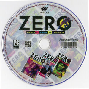 ZERO-MAGAZINE-Full-Collection-on-Disk-ALL-ISSUES-PC-Amiga-Atari-ST-Console-Games