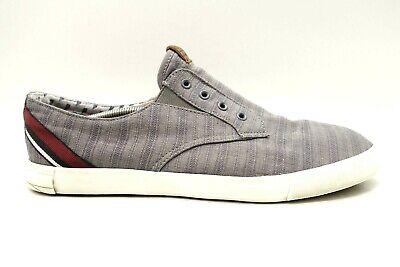 Ben Sherman Bradford BNM00060 Mens Gray Canvas Casual Fashion Sneakers Shoes