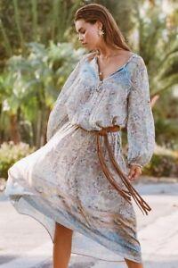 a221c9f4e7e8 Spell Designs Oasis Boho Maxi Dress Opal - Size S BRAND NEW | eBay