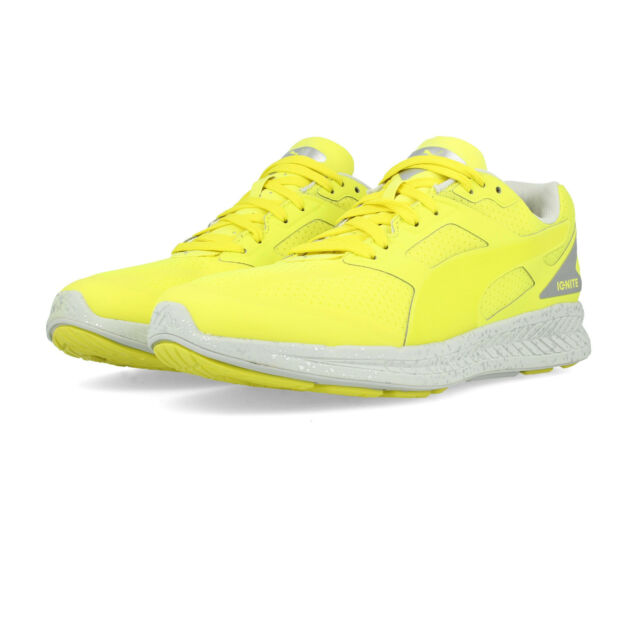 54fa6d2ae6ca Puma Mens IGNITE Fast Forward Running Shoes Trainers Sneakers Yellow Sports