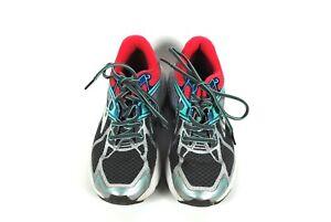 Brooks-Ravenna-7-Womens-Size-6-5-Running-Shoes-Gray-Pink-Blue