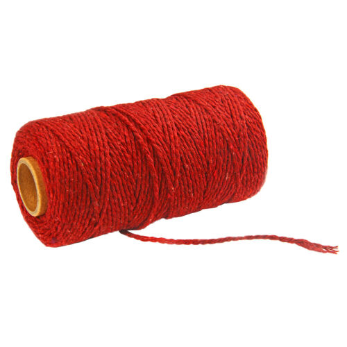 2mm Baumwolle Schnur Seil Faden Garn Häkeln Makramee Baumwollschnur Rolle Gifts