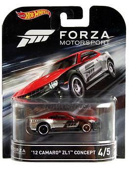 Factory 500 DieCast Hotwheels 12 Camaro ZL1 Concept Green 4//10