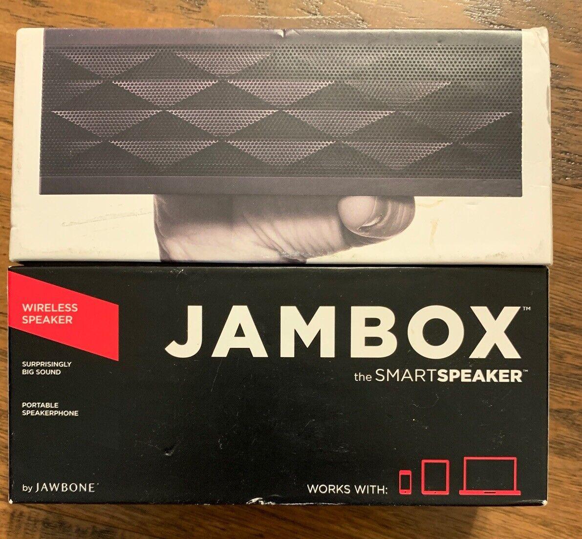 Jawbone Jambox Wireless Portable Speaker Black Diamond V3J-JBE
