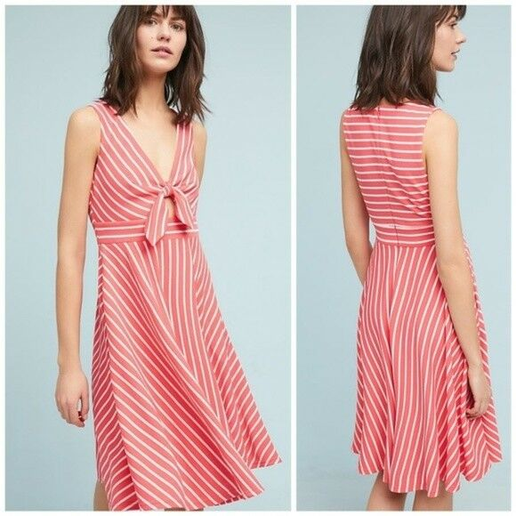 Anthropologie APRIL KEYHOLE DRESS   L