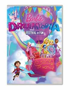 BARBIE-DREAMTOPIA-FESTIVAL-OF-FUN-DVD-Region-2