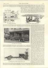 1914 Stephens ELECTRIC Van MB PRIMO SOCCORSO POMPIERI scala carro