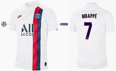 Maillot NIKE PARIS Saint Germain 2019 2020 Third UCL Mbappe 7 [128 xxl] PSG   eBay