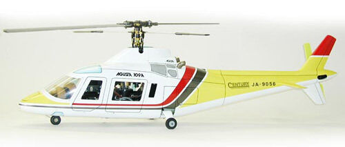 Century Fun-Key Agusta 109 30 Size Painted Scale Radio Control Helicopter Kit