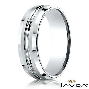 Jewelry & Watches Titanium Black With Diamonds Beveled Edge 7 Mm Polished Wedding Band Available In Various Designs And Specifications For Your Selection Engagement & Wedding