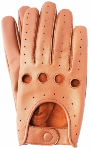 Rev Leather Mens Real Classic Retro Style Quality Chauffeur Soft Driving Gloves