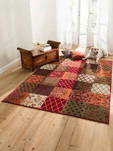 Webteppich-Patchwork-Design-Teppich-Laeufer-Galerie-viele-Groessen