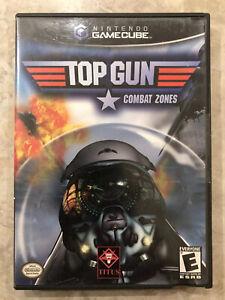 Top-Gun-Combat-Zones-Nintendo-Gamecube-Complete-w-Case-amp-Manual
