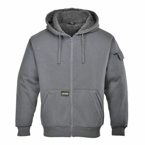 Mens-Hoody-Stylish-amp-Warm-Jacket-Zipped-Sweatshirt-Winter-Work-Outdoors-KS32