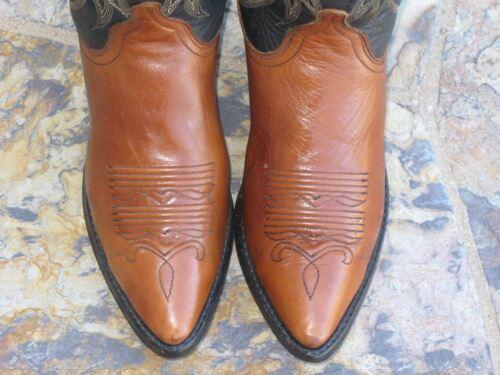 6 Stivali Da West Dan Donna Post Cowboy Taglia M Pelle Far Nero 5 6 Marrone H5EzEqw
