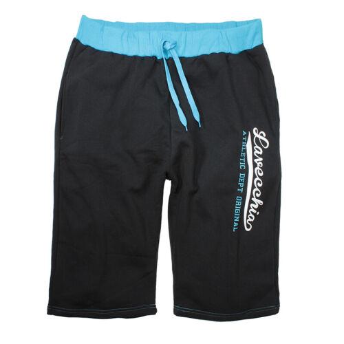 LAVECCHIA Bermuda SHORT SWEAT PANT Jogger misure grandi 3xl 4xl 5xl 6xl 7xl 8xl