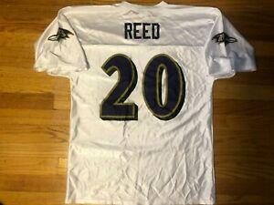 Vtg NFL Players Ed Reed #20 Baltimore Ravens Jersey Mens Adult ...