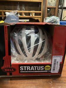 ! Brand New Bell Stratus Bicycle Helmet White Medium