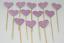 12-Paillettes-Coeur-Cupcake-Toppers-Parti-Decoration-cup-cake-topper-Food-drapeaux miniature 23