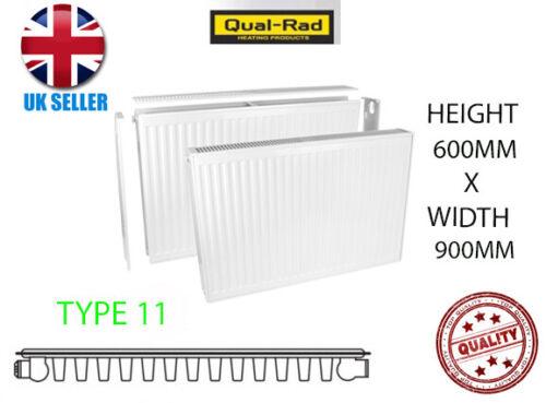 Qualità Rad Radiatore SINGOLO 600 x 900 tipo 11 singolo pannello Convettore IDRAULICA NUOVO